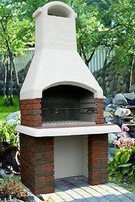 Дачная печь барбекю в колтушах барбекю woodgrill 468-1
