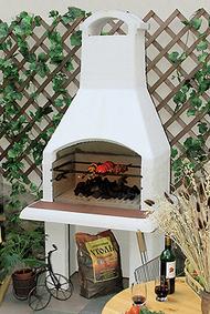 Садовые барбекю в одинцово белые камины электрические в интерьере фото